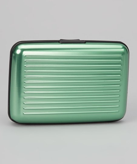 Pastel Green Armored Wallet