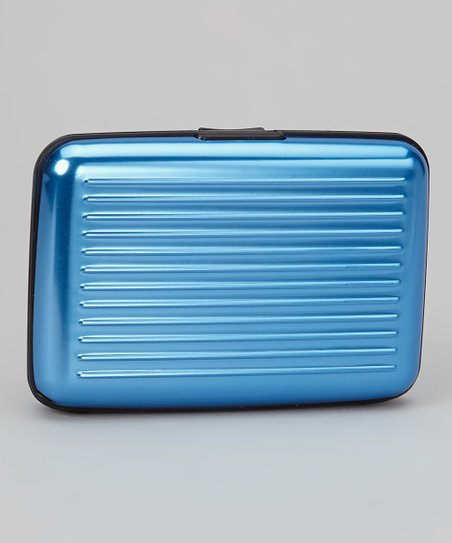 Pastel Blue Armored Wallet