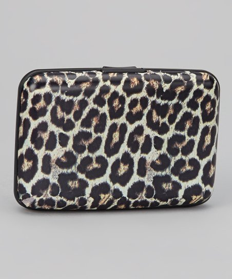 Tan & Black Snow Leopard Armored Wallet