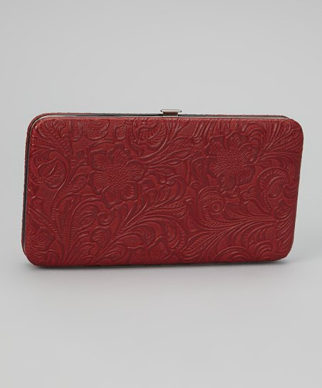 Red Tooled Armored Clutch
