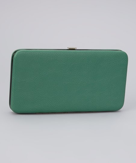 Green Armored Clutch