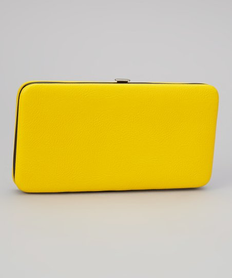 Yellow Armored Clutch