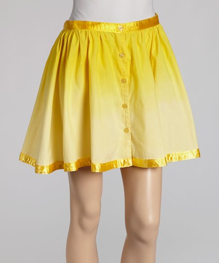 Yellow Miniskirt - Women