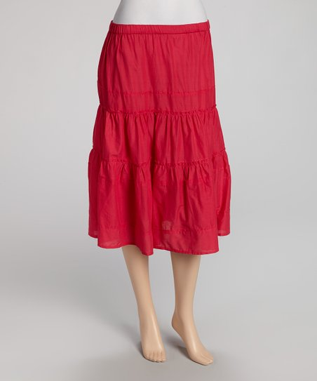 Fuchsia Skirt - Women