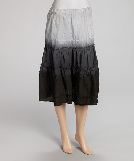 Gray Ombre Skirt - Women