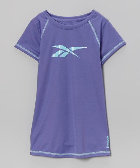 Soft Purple Slinky Raglan Tee