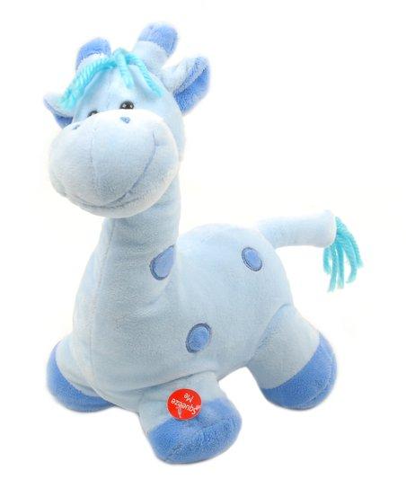 Blue Patty Cake Giraffe Plush Toy