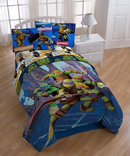 Teenage Mutant Ninja Turtle NYC Twin Comforter