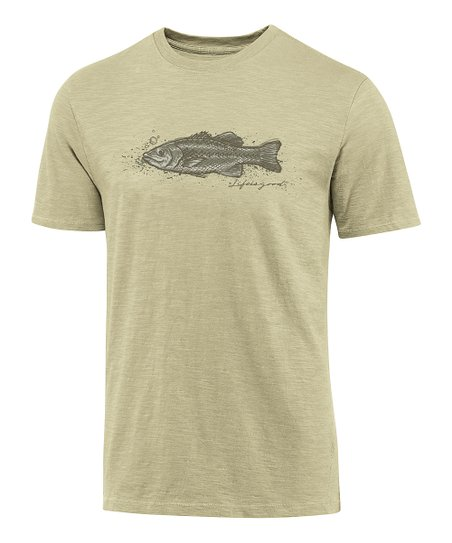 Light Green Karma Fish Organic Tee - Men