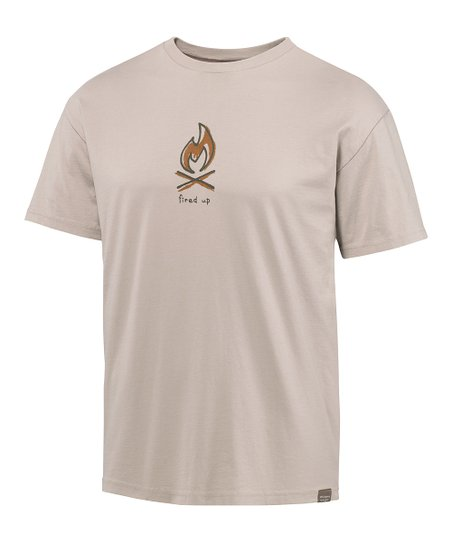 Simply Steel Fire Grass Roots Organic Tee - Men