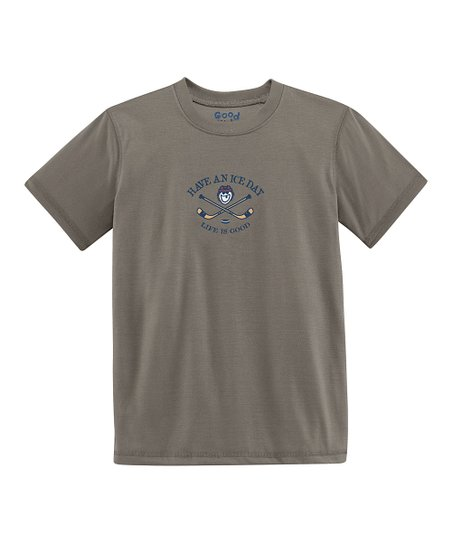 Gray 'Have an Ice Day' Short-Sleeve Tee - Toddler & Boys