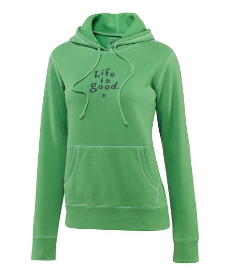 Simply Green Softwash Hoodie - Women