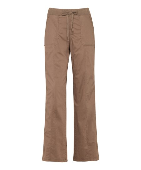 Mocha Drawstring Pants - Women