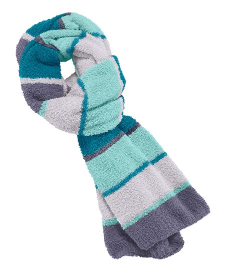Blue Stripe Snuggle Scarf