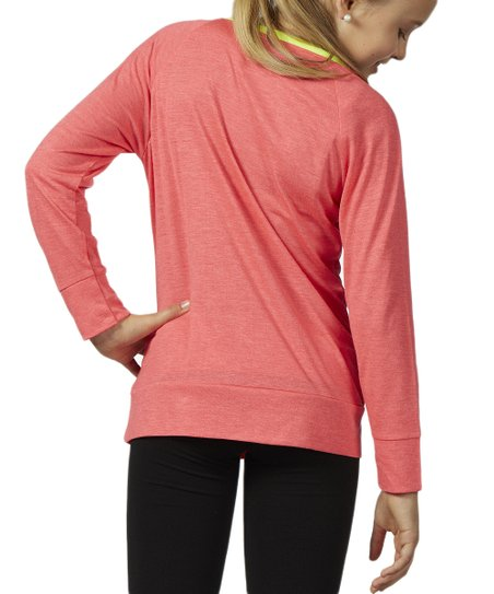 Heather Diva Pink Boatneck Top