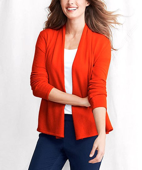 Lobster Tail Classic Cashmere Cardigan - Petite & Women