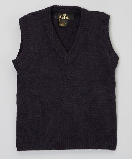 Navy Sweater Vest - Toddler & Boys