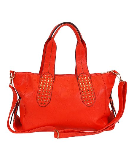 Red East West Tote