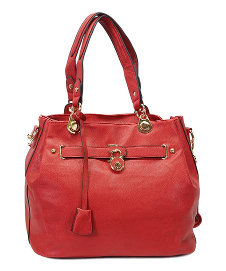 Red Lock Tote
