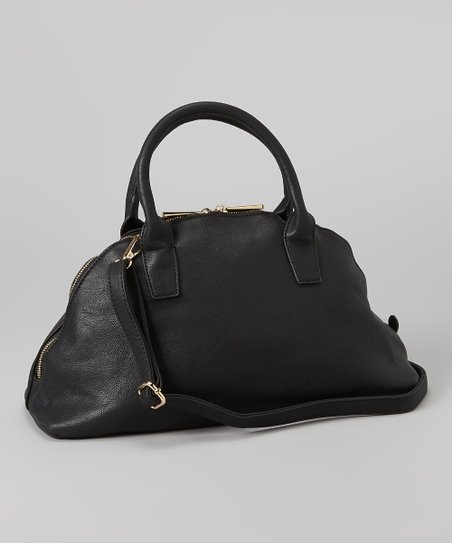 Black Almond Satchel