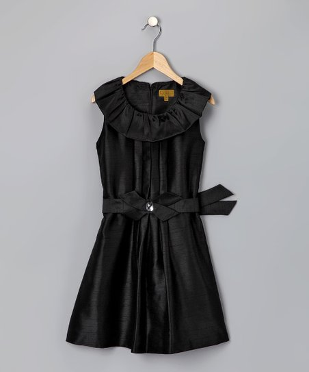 Black Mandi Bow Dress