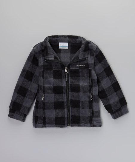 Black Lumberjack Zing II Fleece Jacket - Toddler