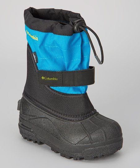 Black & Chartreuse Children's Powderbug Plus II Boot