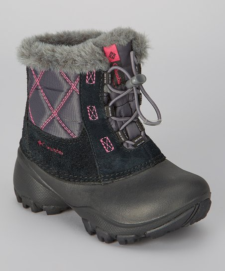 Black & Bright Rose Children's Rope Tow II Boot