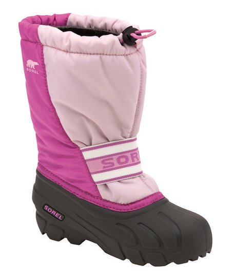 Pink Frost & White Cub Boot