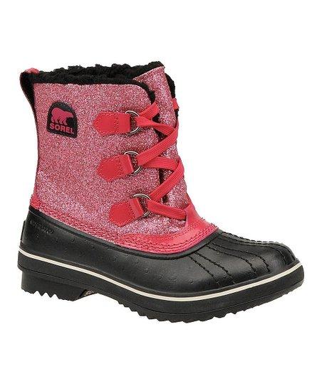 Bright Rose Tivoli Glitter Boot
