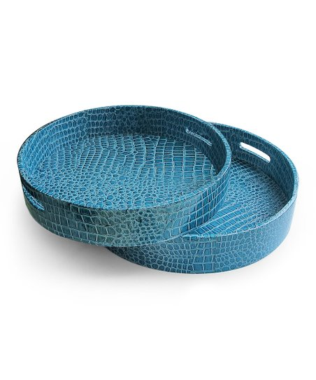 Blue Croc Nesting Tray Set