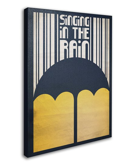 'Singing in the Rain' Canvas Wall Art