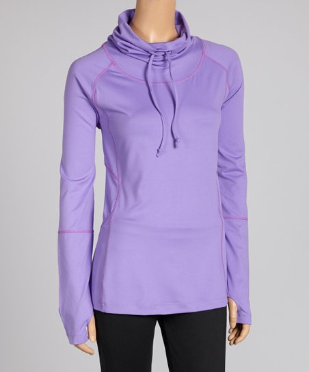 Purple Daze Desire Cowl Neck Top - Women & Plus
