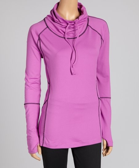 Sugar Plum Desire Cowl Neck Top - Women & Plus
