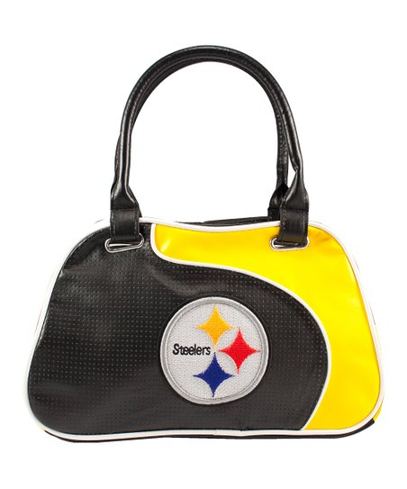 Black Pittsburgh Steelers Satchel