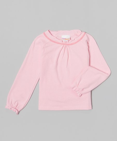 Pink Ruffle Tee - Toddler & Girls