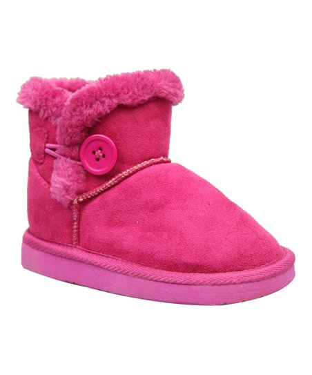 Fuchsia Toggle Button Lulu Boot