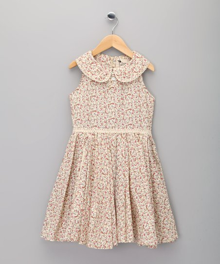 Pink Floral Hepburn Dress - Infant & Girls