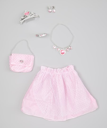 Pink Princess Dress-Up Set