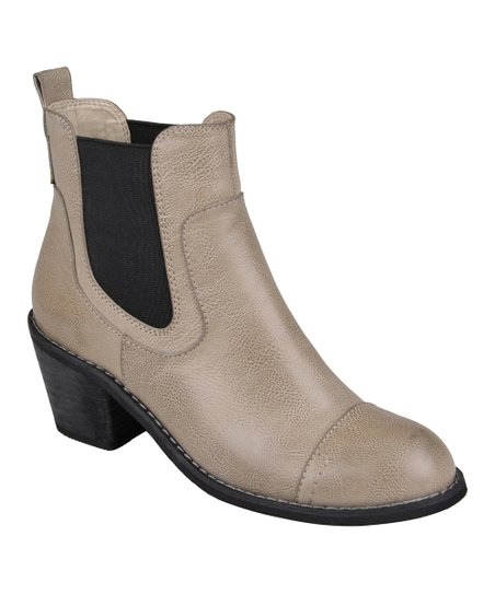 Gray Rome Ankle Boot