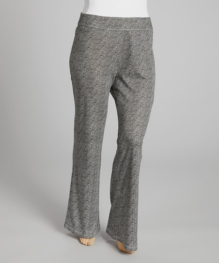 Light Gray Palazzo Pants - Plus