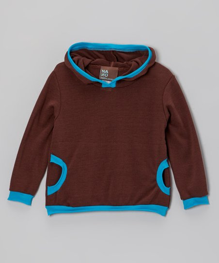 Brown Sweater Hoodie - Infant & Boys