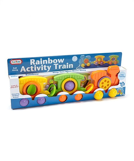 Rainbow Activity Train