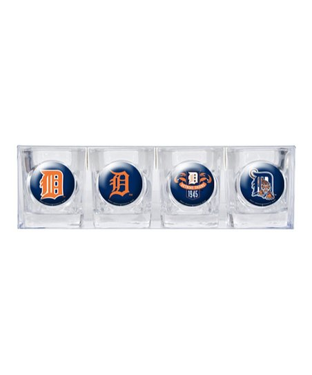 Detroit Tigers Shot Glass Set