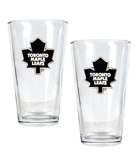 Toronto Maple Leafs Pint Glass - Set of Two