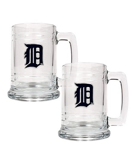 Detroit Tigers Tankard - Set of Two
