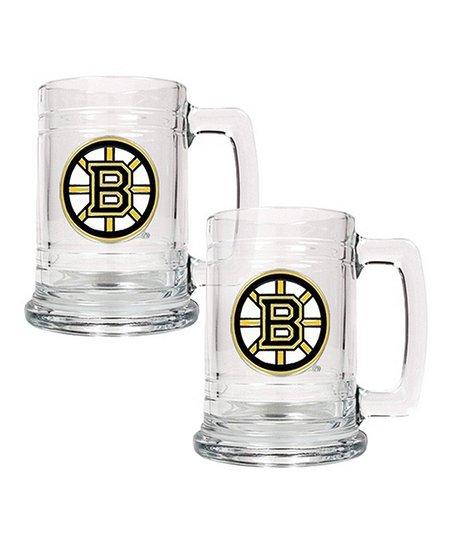 Boston Bruins Tankard - Set of Two