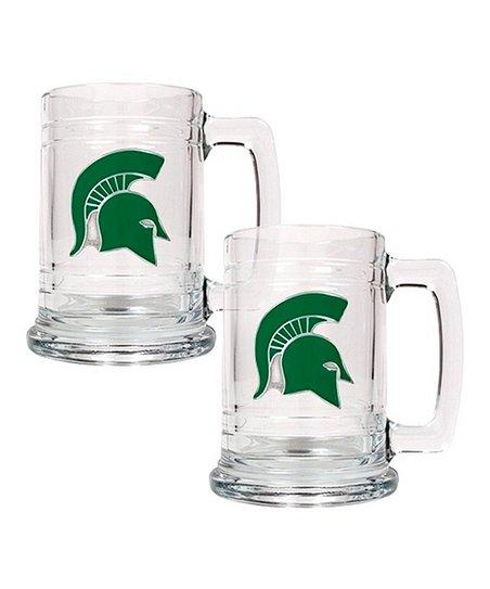 Michigan State Tankard - Set of Two