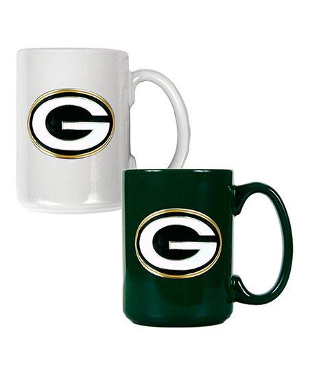 Green Bay Packers Coffee Mug Set