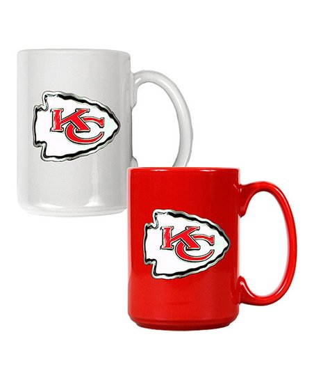 Kansas City Chiefs Coffee Mug Set